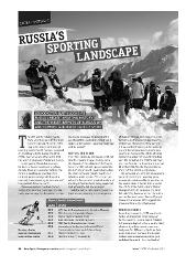 Russia's Sporting Landscape